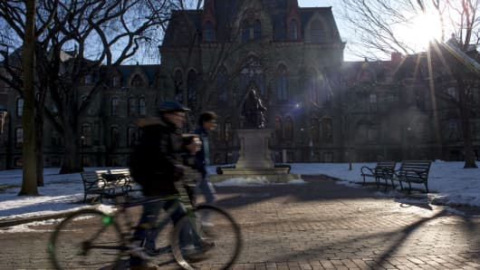 Black students at University of Pennsylvania receive racist group text messages
