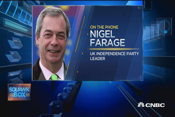Don't underestimate Trump: Nigel Farage