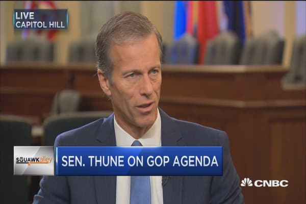Sen. Thune: We will move quickly on repealing Obamacare