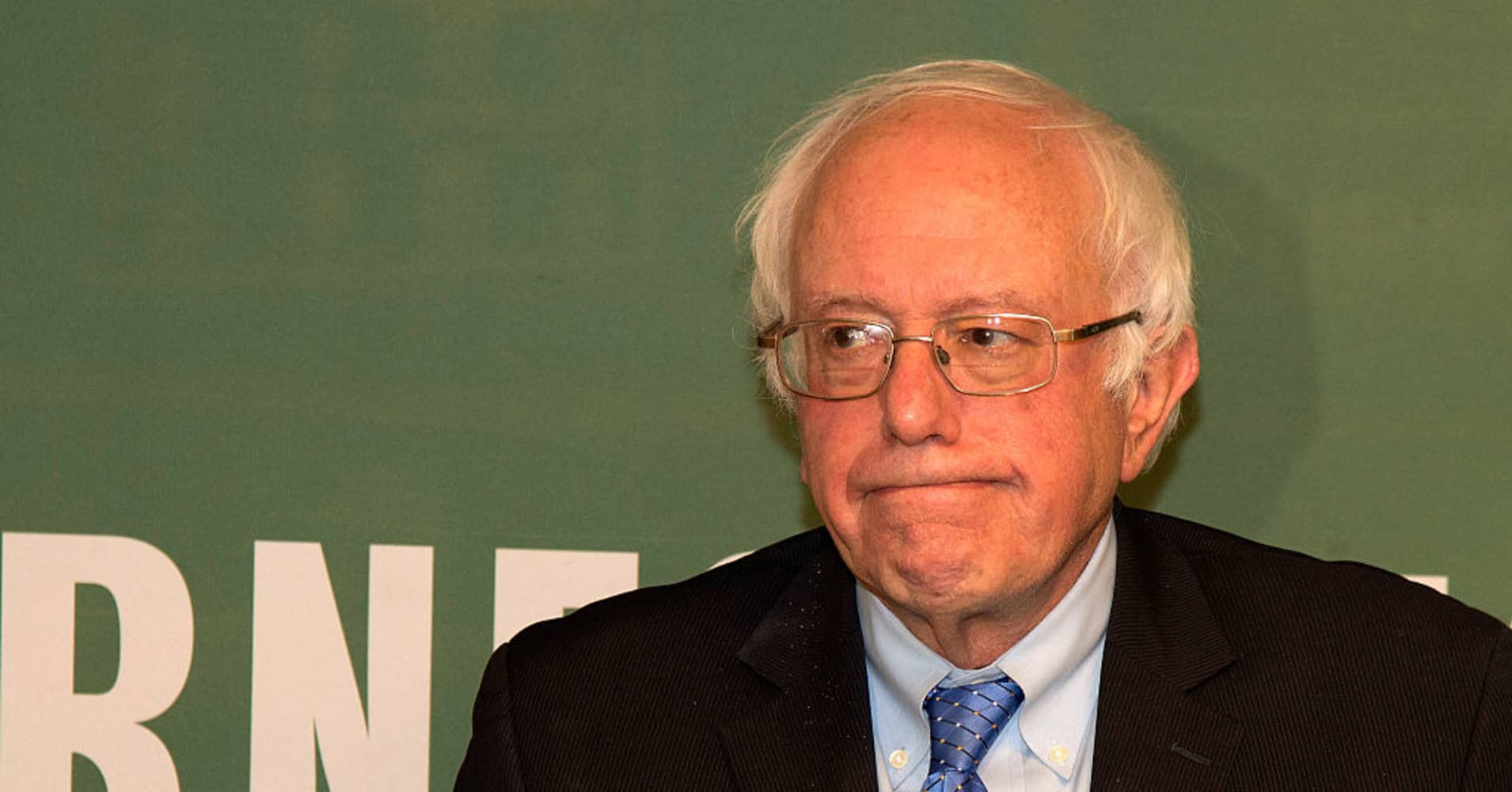 Bernie Sanders just thanked Trump for a comment about health care
