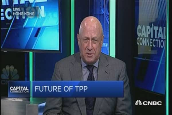 TPP is in a coma and China stands to gain