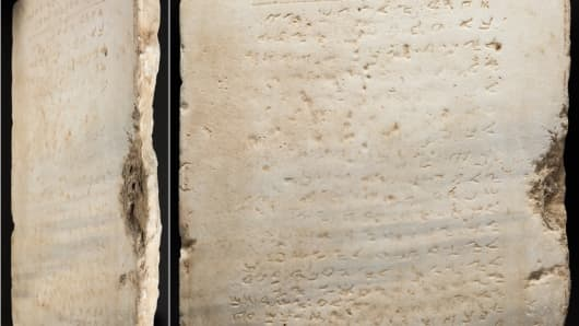 Oldest Known Ten Commandments Tablet Sold