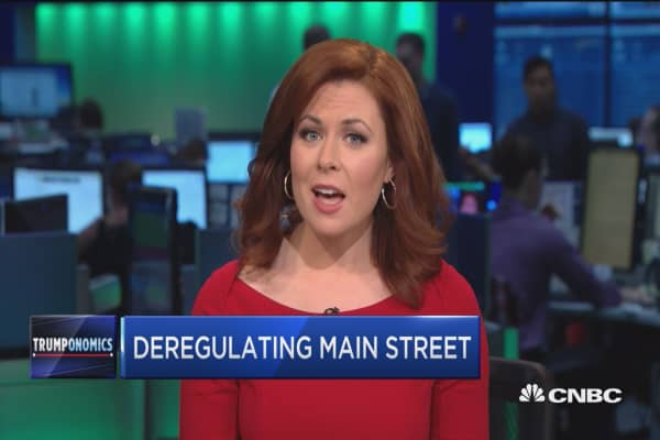Deregulating Main Street