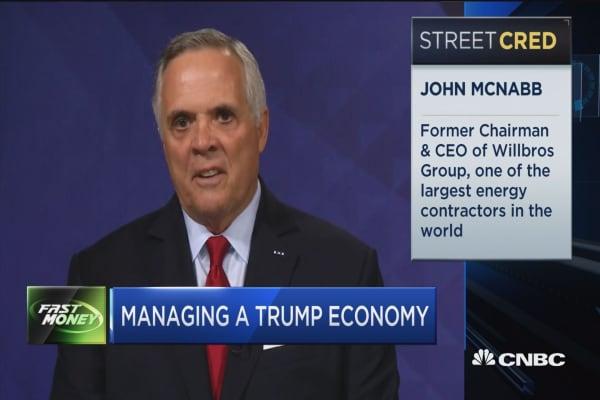 La gestión de una economía Trump