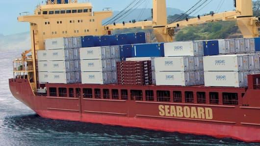 Seaboard Shipping Vessel