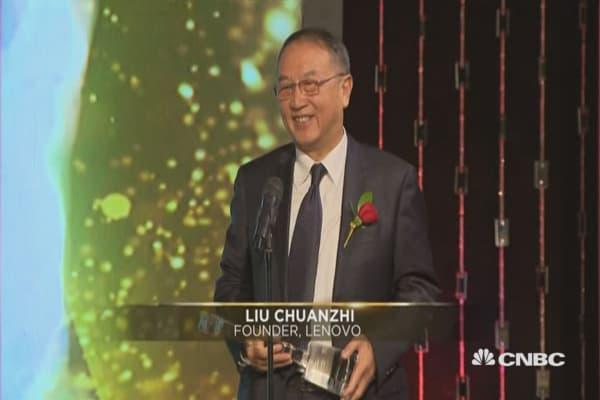Lifetime Achievement Award: Liu Chuanzhi