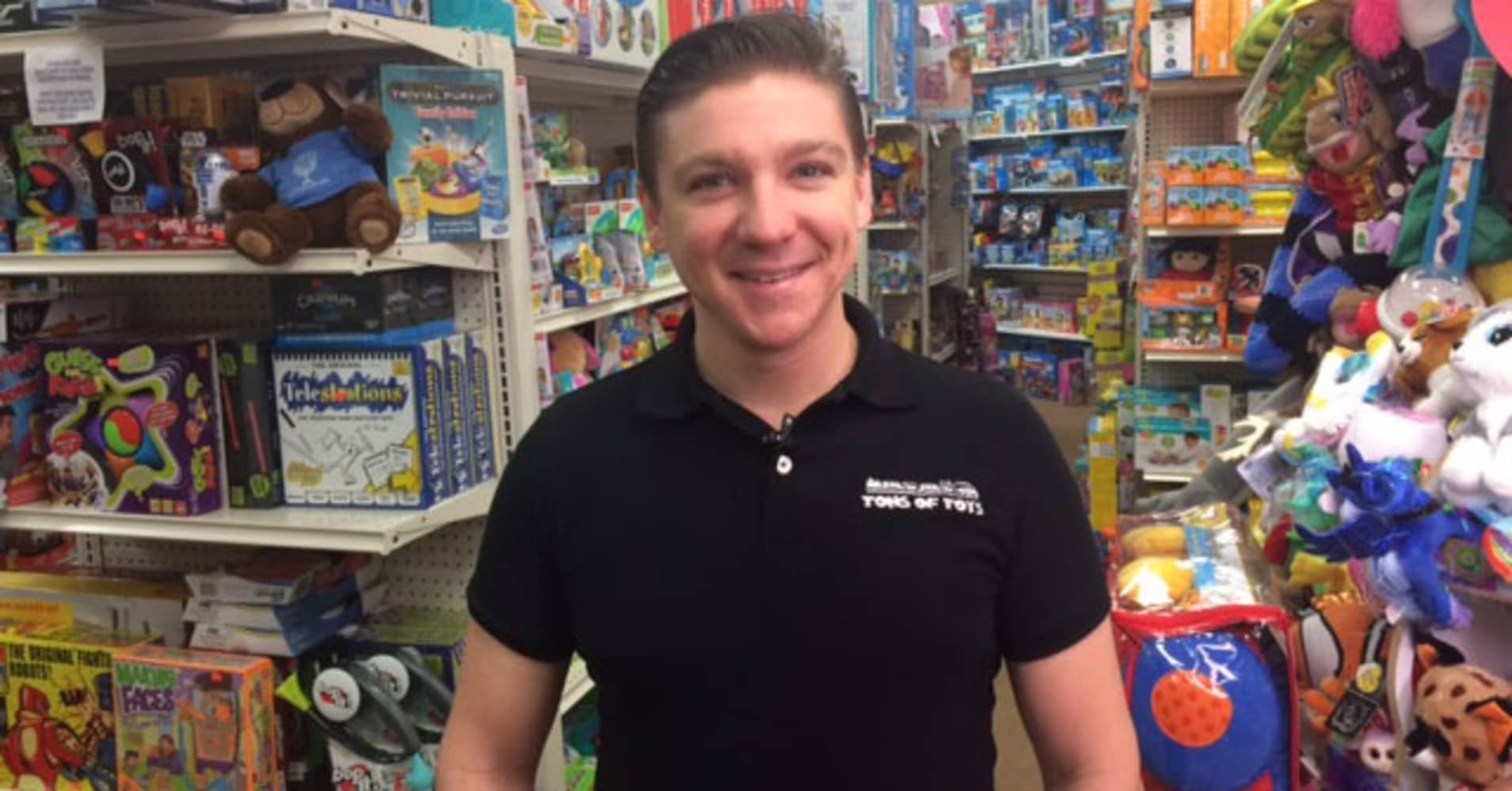 Small retailers like Anthony DeSalis at Tons of Toys in Bernardsville, N.J. are gearing up for Small Business Saturday.