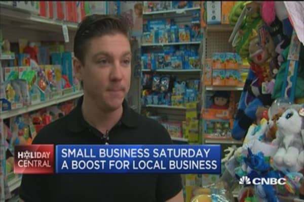 Small Business Saturday: A boost for local businesses?