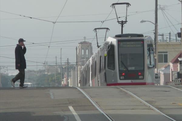 Hackers attack San Francisco Muni line