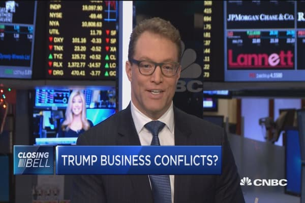 3-point solution to Trump's business conflicts?