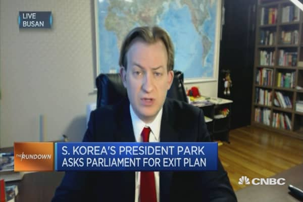 President Park could be impeached on Friday: Academic