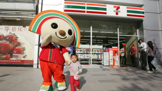 7-Eleven made its debut in Shanghai in 2009 with four stores.