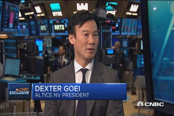 Altice USA CEO: All capital reinvested into fiber