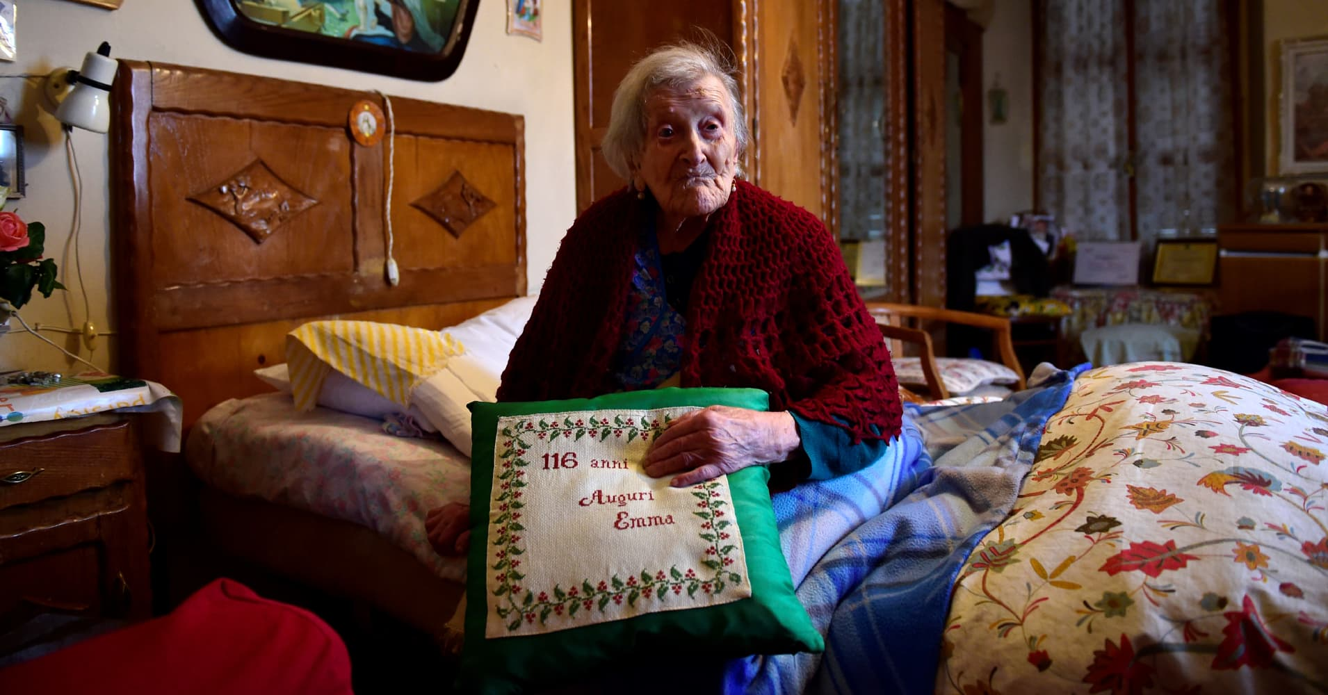 Emma Morano is the oldest living person in the world.