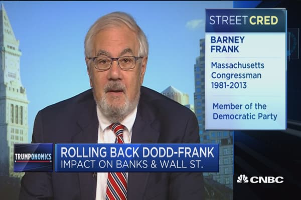Frank: Tell me what in Dodd-Frank hurts lending