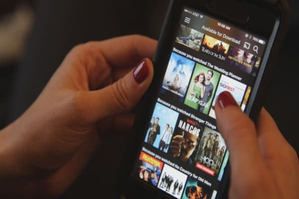 Select Netflix content now available for download