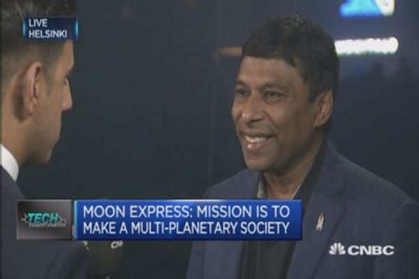 Moon is first training ground to getting to Mars: Founder