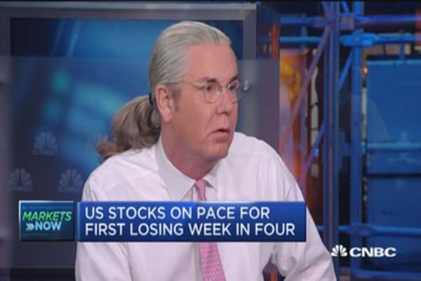 Market is celebrating the end of fiscal austerity: McCulley