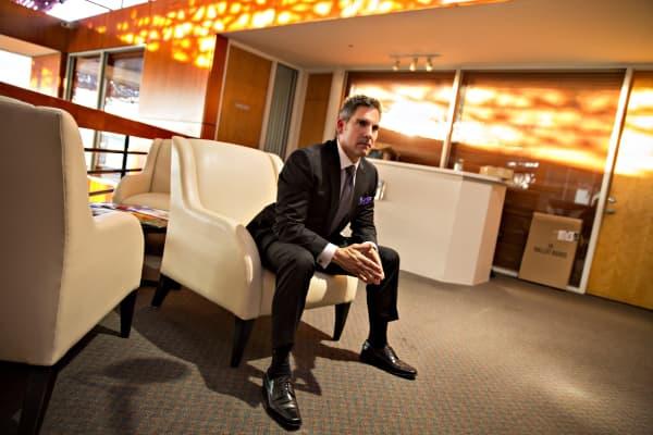Self-made millionaire Grant Cardone