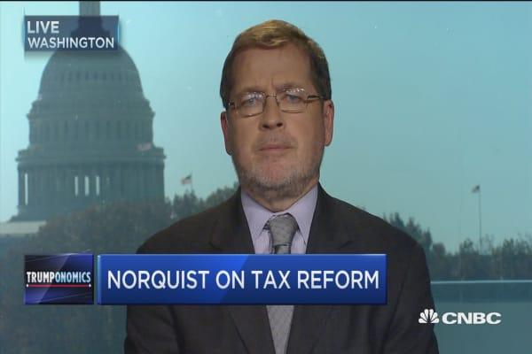 Norquist on taxes, Trump & Reagan