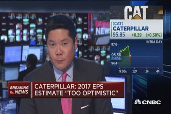 Caterpillar: Volatile oil prices concern us