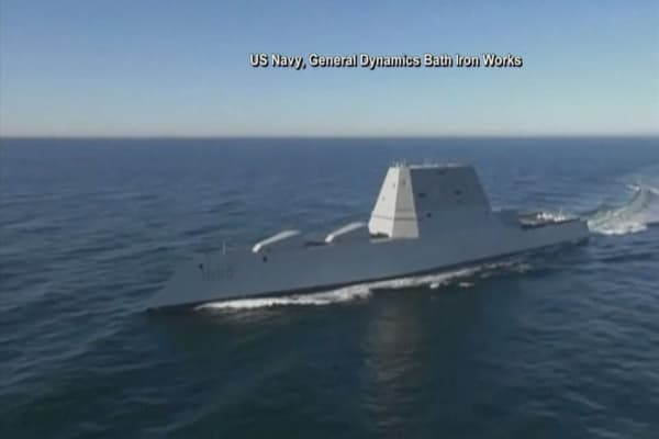 Future of Navy's USS Zumwalt ship in limbo