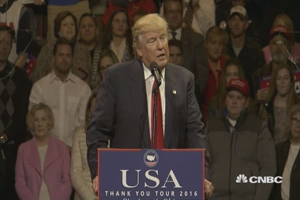 Trump announces Mattis is his pick for Defense