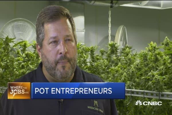 The marijuana gold rush