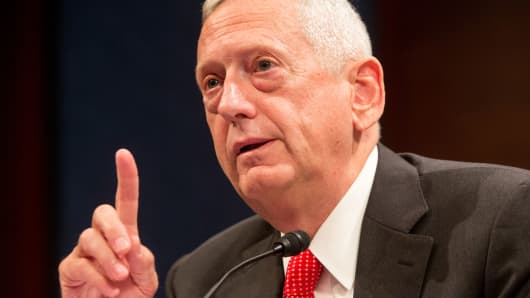 Mattis Pick for Defense Opens Debate in Congress on Ex-Generals