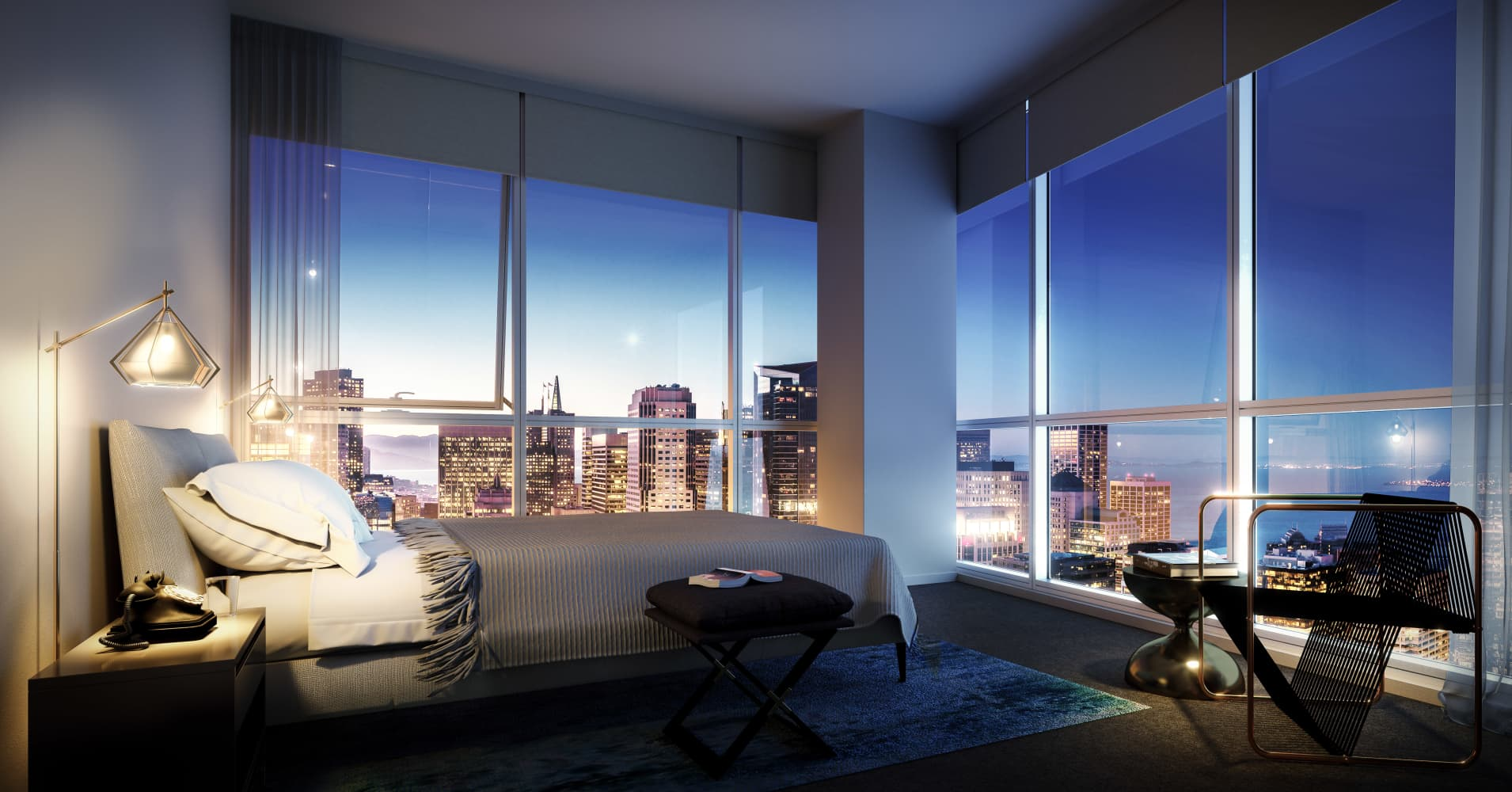This 8 000 a month san francisco apartment will include a for San francisco furniture rental