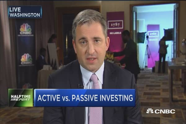 Thaler on active vs. passive investing