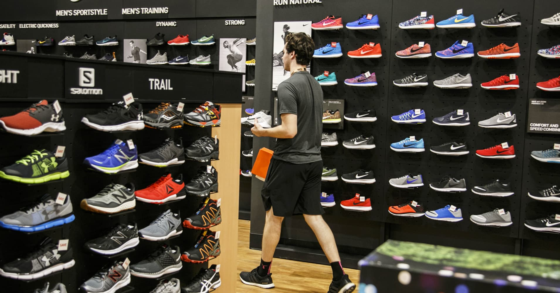best authentic 9fbda f9ca2 Cowen lowered its rating for Nike shares to market perform from outperform,  citing rising competitive pressure and discounting at retail stores.