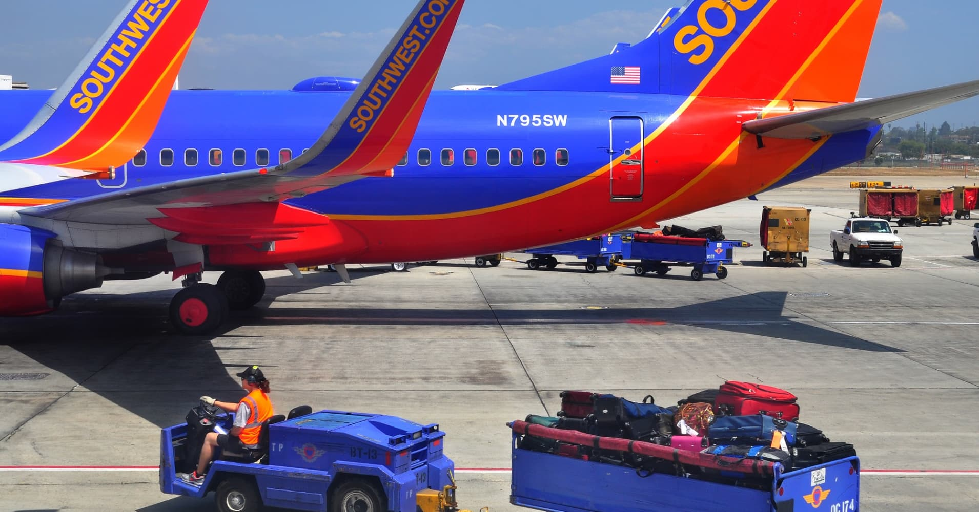The Southwest Airlines' (LUV)
