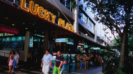 Toast's headquarters is situated in Lucky Plaza on Singapore's famed Orchard Road. It is also a notable meet-up location for many foreign workers in Singapore.