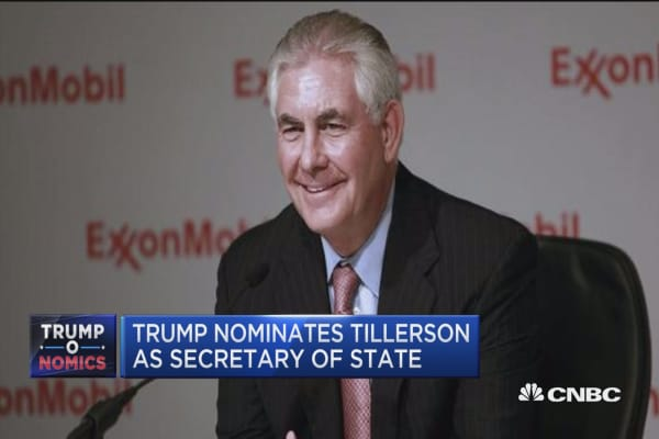 Tillerson choice is wedge between Germany and US: Cramer