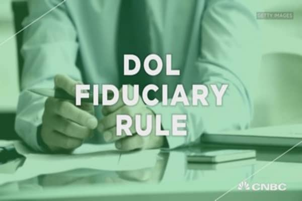 DOL fiduciary rule