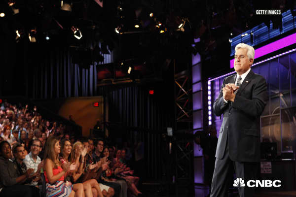 Why Jay Leno 'never touched' his Tonight Show money