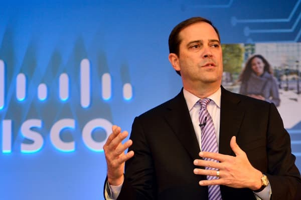 Cisco CEO Chuck Robbins.