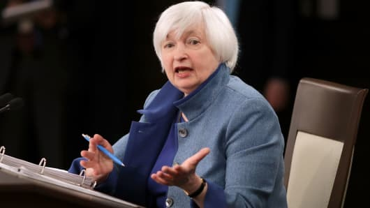 Yellen flags 'uncertainty' over United States fiscal policy