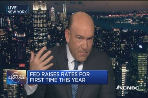 Fed forecasts three hikes in 2017