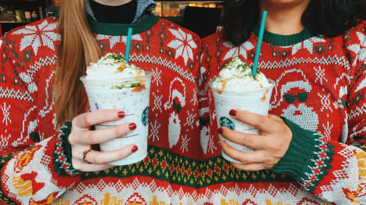 Starbucks Just Debuted a New Holiday Drink Inspired by This Unpopular Dessert