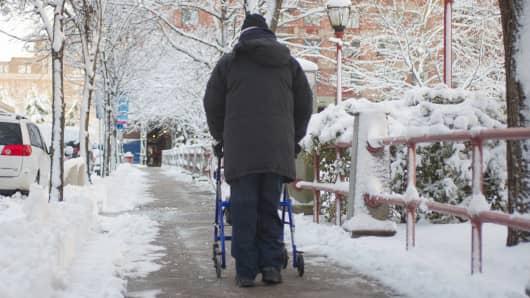 Elderly retiree medicare