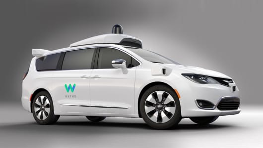 FCA delivering 100 uniquely-built Chrysler Pacifica Hybrid minivans to Waymo (formerly the Google self-driving car project) for their self-driving test fleet.