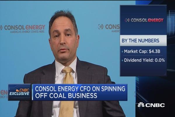 Consol Energy CFO on coal vs. natural gas