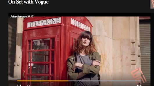 Sample of a Methbot Generated URL for Vogue.com video advertisement.