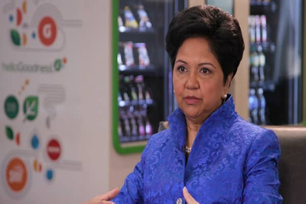 PepsiCo CEO Indra Nooyi shares tips on how to move up in your career