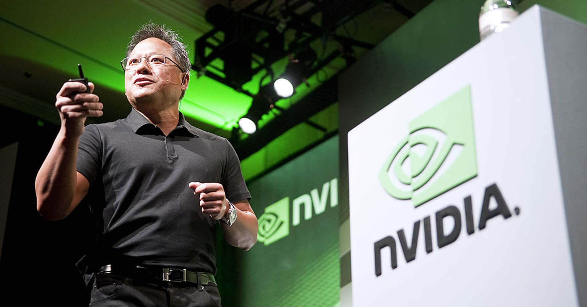 Nvidia CEO shrugs off Google's efforts to undercut its growth engine