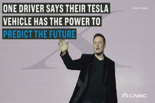 Tesla's autopilot feature appears to predict accidents