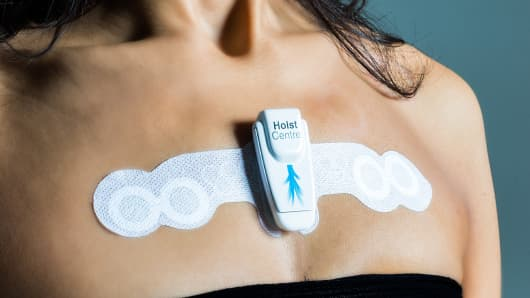 Wearable health patch