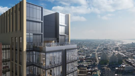 Real Estate Developers Engaged In 39 Arms Race 39 To Fill Brooklyn Luxury